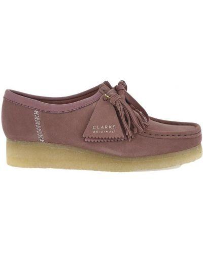 Loafers - różowe Clarks