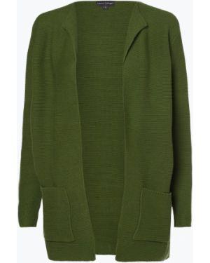 Zielony garnitur elegancki dzianinowy Franco Callegari