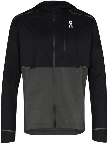 Куртка с капюшоном - черная On Running