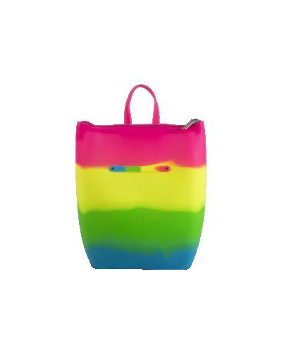 Розовая сумка-рюкзак силиконовая сумка Tinto