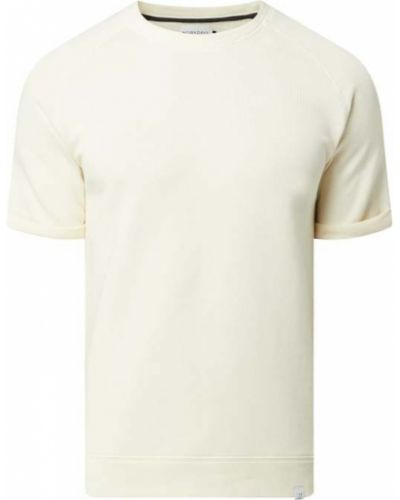 Biały t-shirt krótki rękaw bawełniany Nowadays