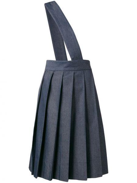 Плиссированная юбка с завышенной талией винтажная Comme Des Garçons Pre-owned