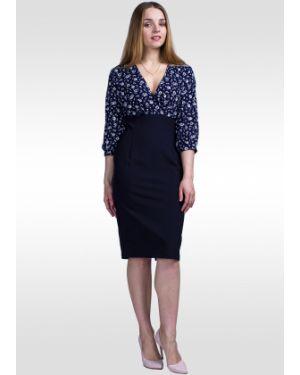 Платье с запахом с завышенной талией Lila Classic Style