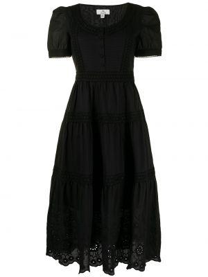 Черное хлопковое платье мини We Are Kindred