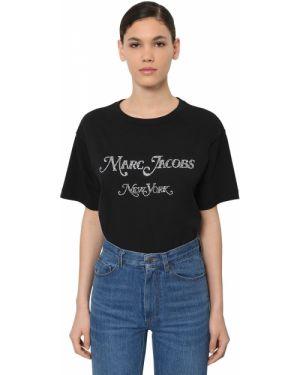 Рубашка с воротником-стойкой в полоску Marc Jacobs
