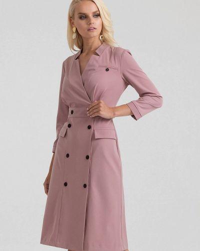 Платье розовое платье-пиджак Lova