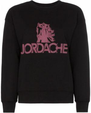 Черный свитер Jordache