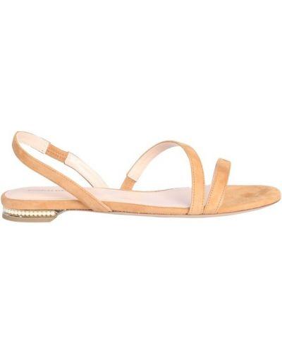 Żółte sandały Nicholas Kirkwood
