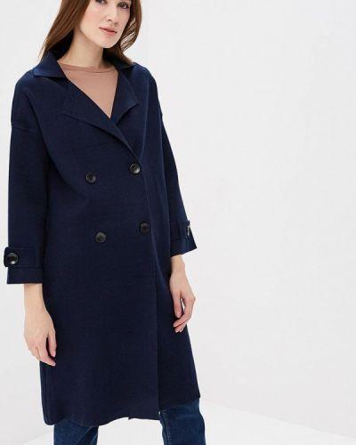 Синее пальто весеннее Fresh Cotton