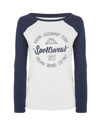 Спортивная футболка хлопковая из вискозы Kappa
