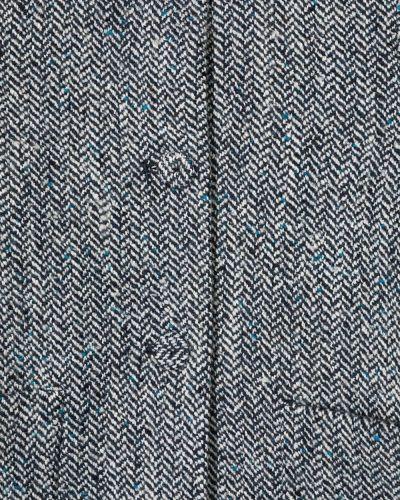 С рукавами черное длинное пальто из искусственного меха Il Gufo