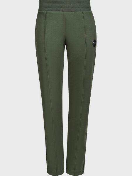 Хлопковые зеленые спортивные брюки Colmar Originals