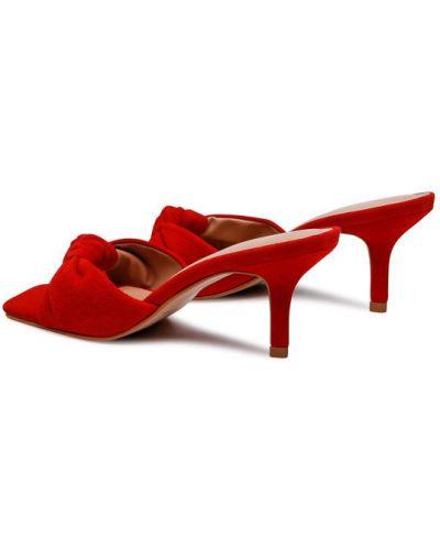 Czerwone klapki Eva Longoria