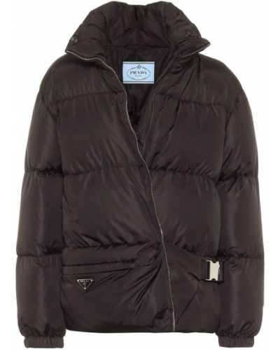 Дутая куртка - черная Prada