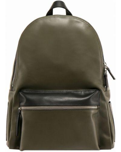 Zielony plecak Orciani