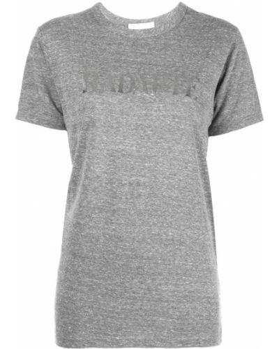 Прямая рубашка с коротким рукавом с лебяжьим пухом Rodarte