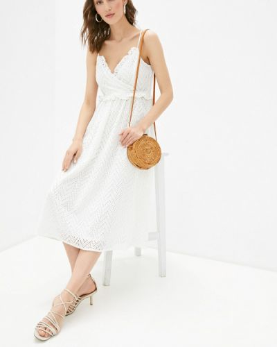 Белое сарафан Selected Femme