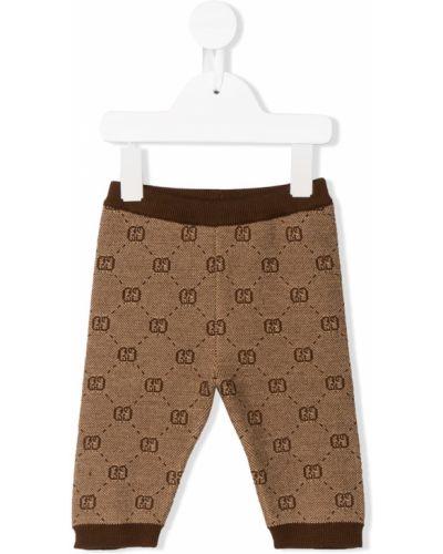 Леггинсы с поясом эластичный Gucci Kids