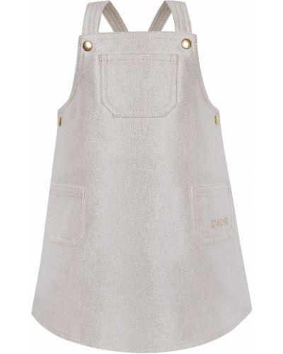 Хлопковое платье Dior