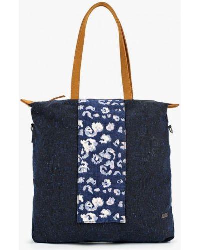 Синяя сумка с ручками Roxy