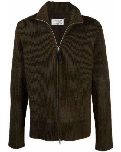 Zielony sweter Maison Margiela