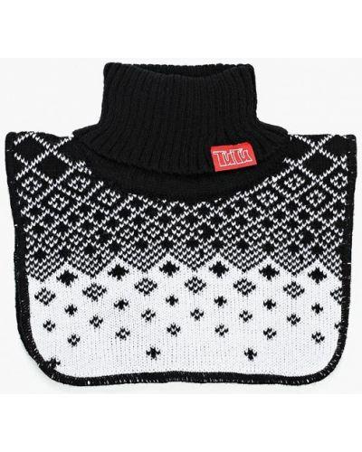 Черный шарф Tutu