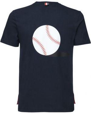 Koszula z logo z nadrukiem Thom Browne