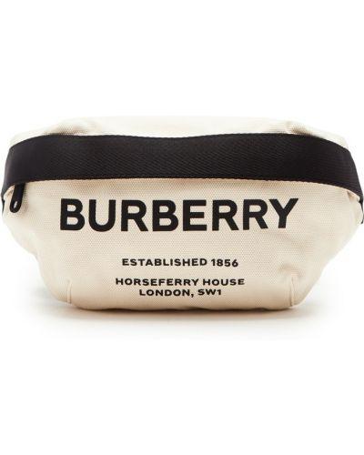 Поясная сумка большая бежевый Burberry
