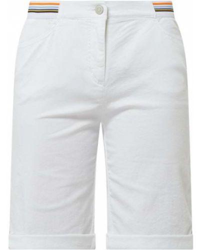 Białe bermudy bawełniane Toni Dress