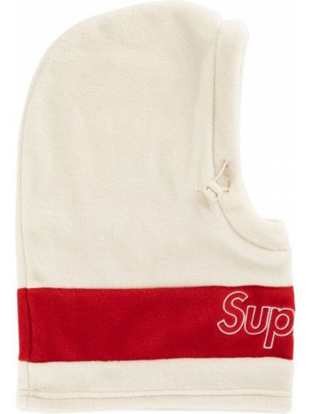 Biała ciepła kominiarka Supreme