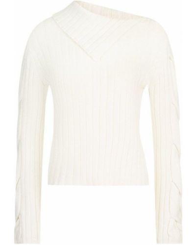 Вязаный свитер шерстяной однотонный See By Chloé
