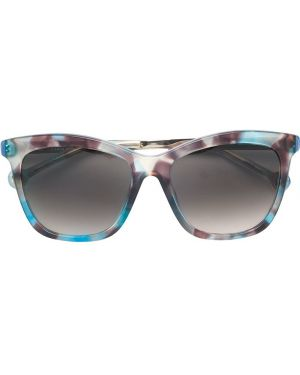 Солнцезащитные очки квадратные металлические хаки Ch Carolina Herrera