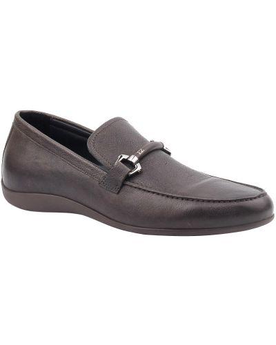 Коричневые туфли Ermenegildo Zegna