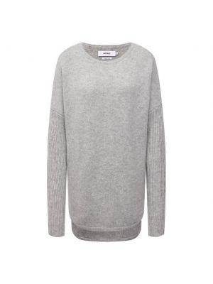 Кашемировый пуловер - серый Not Shy