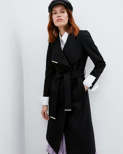 Черное пальто Ted Baker London
