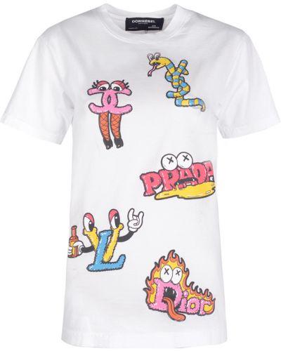 T-shirt z printem Domrebel