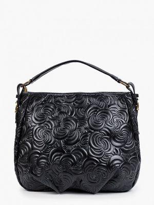 Черная зимняя сумка Roberta Rossi
