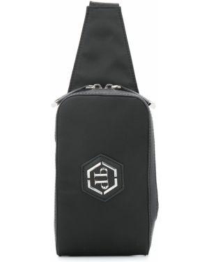 Черная сумка через плечо Philipp Plein