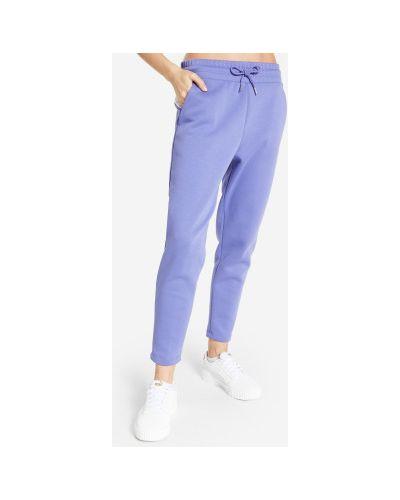 Спортивные брюки из полиэстера - фиолетовые Puma