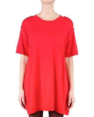 Хлопковое платье - красное Maison Margiela
