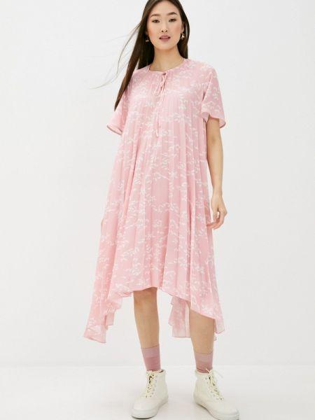 Розовое платье Markus Lupfer