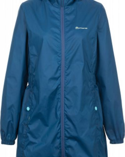 Куртка с капюшоном длинная спортивная с мехом Outventure