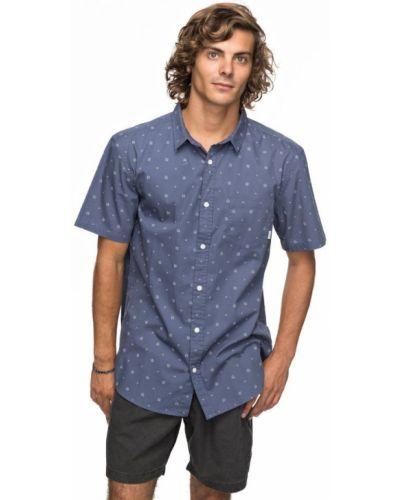Рубашка с короткими рукавами винтажная Quiksilver