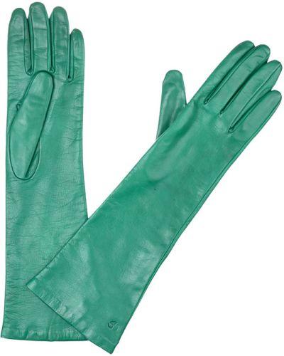 Кожаные перчатки зеленый Mor`a