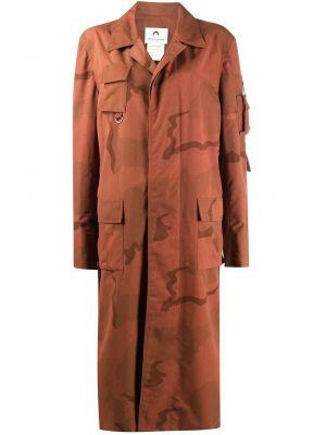 Пальто с карманами - оранжевое Marine Serre