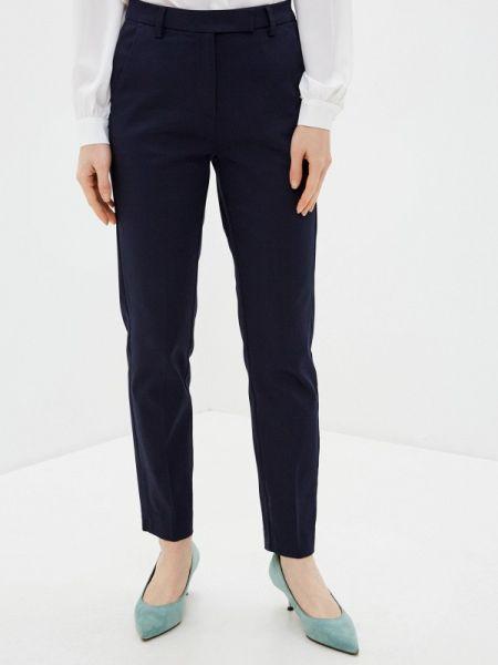 Синие классические брюки с карманами Marks & Spencer