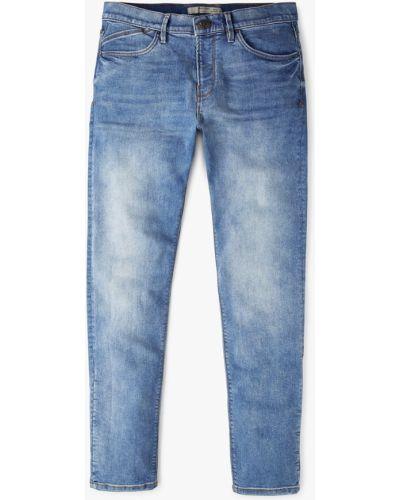 Синие джинсы-скинни Mango Man