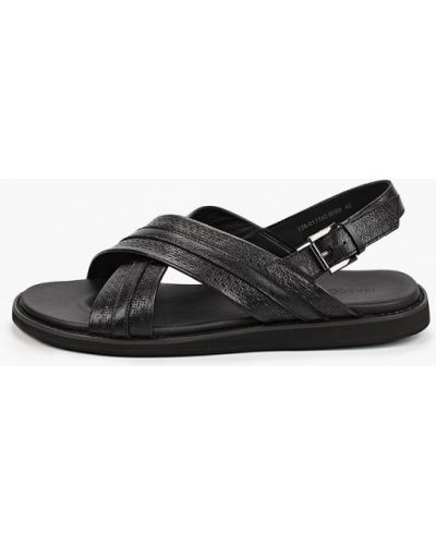Кожаные сандалии - черные Mascotte