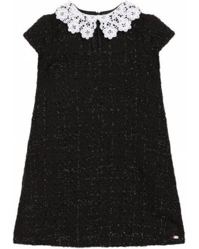 Платье твидовое черное Tartine Et Chocolat