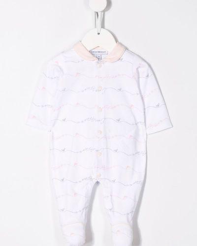 Пижама розовый с воротником Emporio Armani Kids